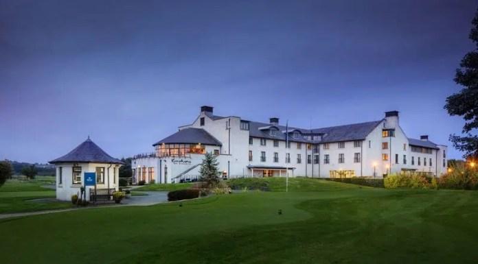 The Hilton Hotel in Templepatrick
