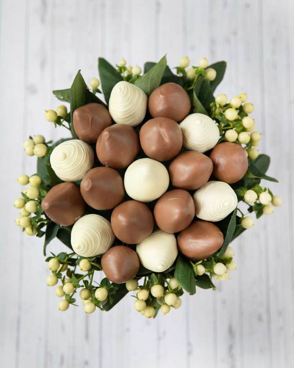 fathersday chocolate covered strawberries