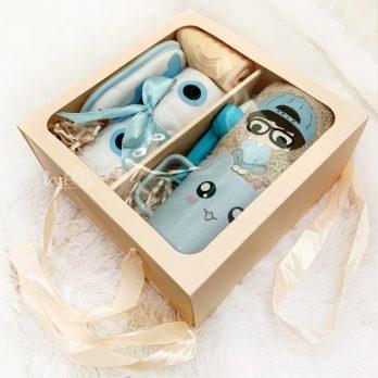 gift box bath set boy