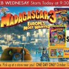 RC WIlley Wild Web Wednesday: Madagascar 3 DVD only $8.95 and Blu-Ray Special Pack only $14.95