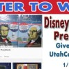 The Giveaway Winners of the Disney American Presidents DVD's & App Codes are: