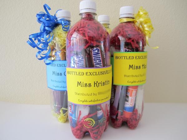 Water Bottle  Teacher Appreciation Gift