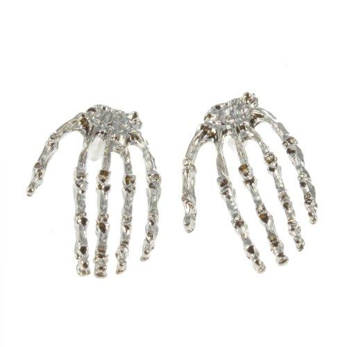 Skull Hand Earrings