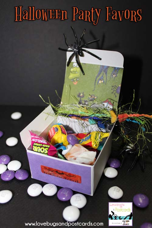 Halloween Party Favors Boxes