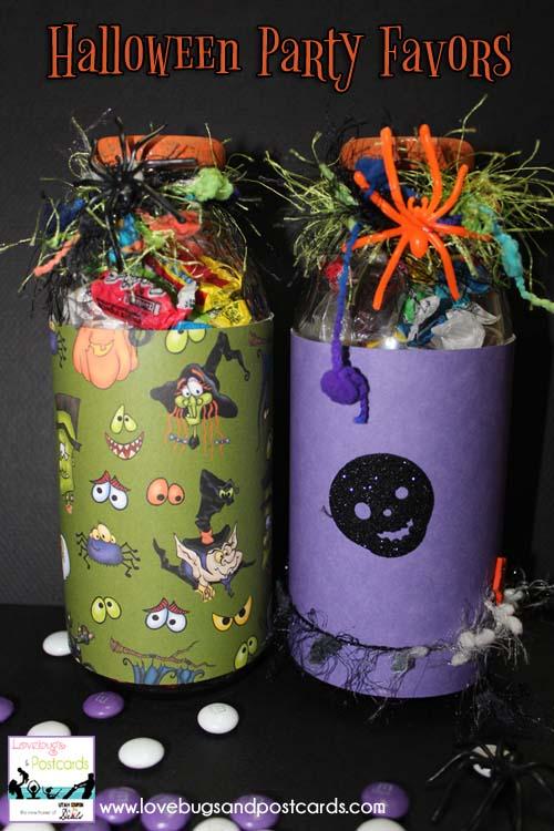Halloween Party Favors Jars