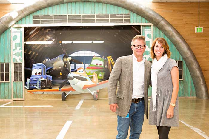 Behind the scenes with @Disney PLANES Director Klay Hall and Producer Traci Balthazor-Flynn #disneyplanesbloggers