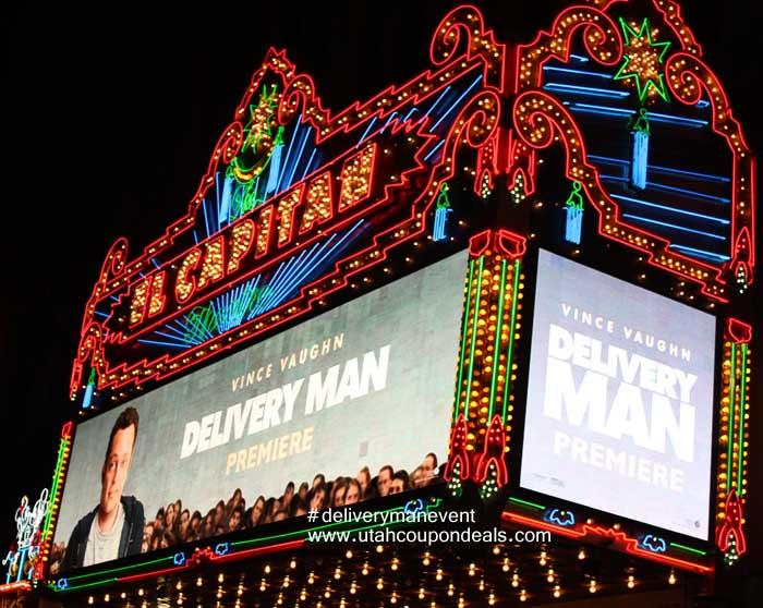 Delivery Man Red Carpet Premier
