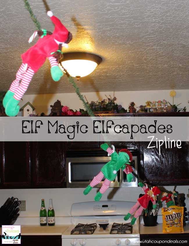 Elf Magic Elfcapades Ideas : Zipline