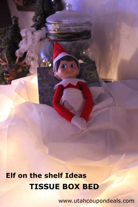 Elf On The Shelf Ideas Tissue Box Bed Lovebugs And