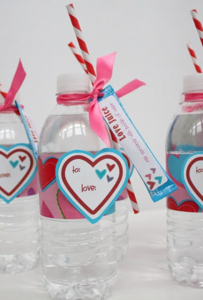Love Juice DIY Valentine's - 10 DIY Valentine's Day Projects