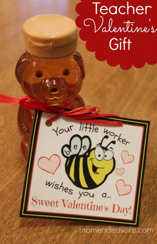 "Teacher ""Little Worker Bee"" Valentine's Gift"