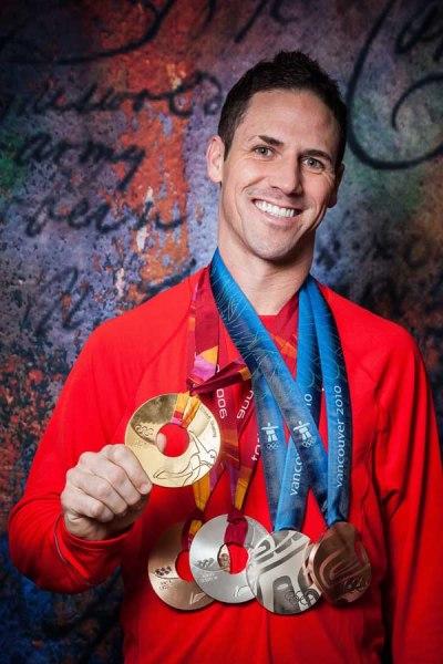 Olympian Chad Hedrick