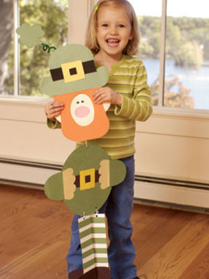 Leapin' Leprechauns Craft