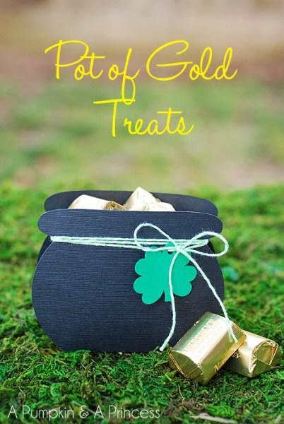 St. Patrick's Day Pot of Gold Treats