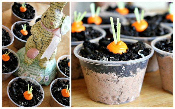 Carrot Patch Pudding Cup