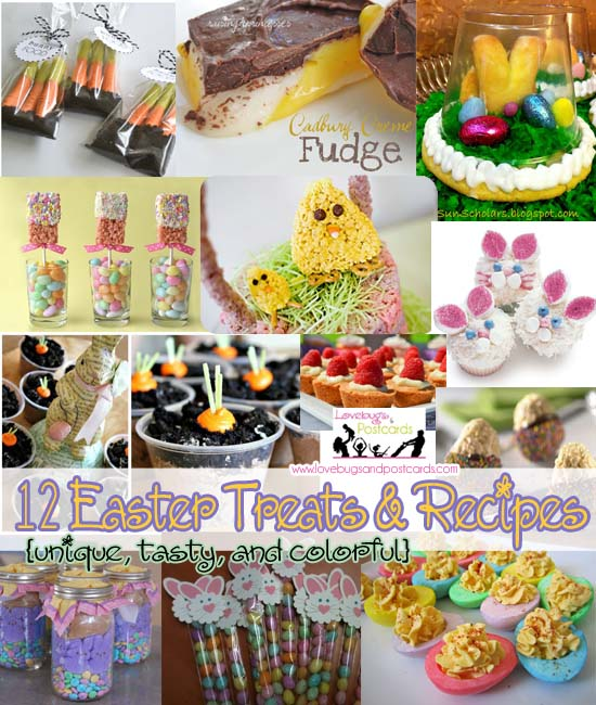 12 Easter Treats and Recipes