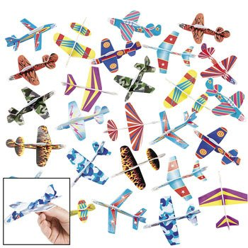 Foam Glider Assortment (Pack of 72)