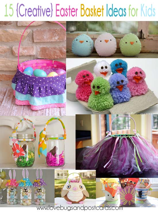 15 Creative Easter Basket Ideas for Kids