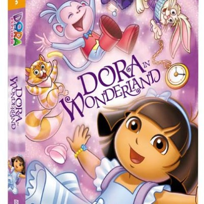 Dora the Explorer: Dora in Wonderland DVD {and FREE Printable Activities}