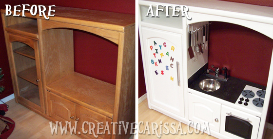 How to Make a DIY Play Kitchen