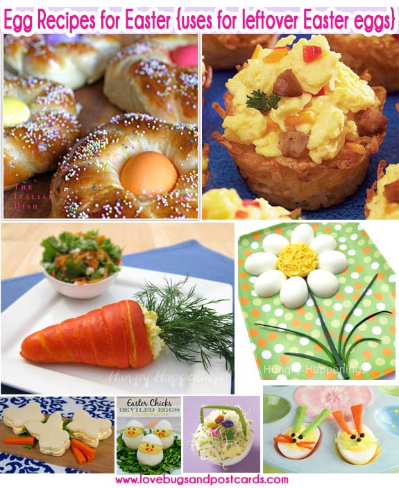 Egg Recipes for Easter {uses for leftover Easter eggs}