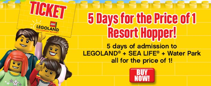 LEGOLAND® California Resort - Discount Tickets