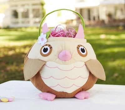 Owl Easter Basket