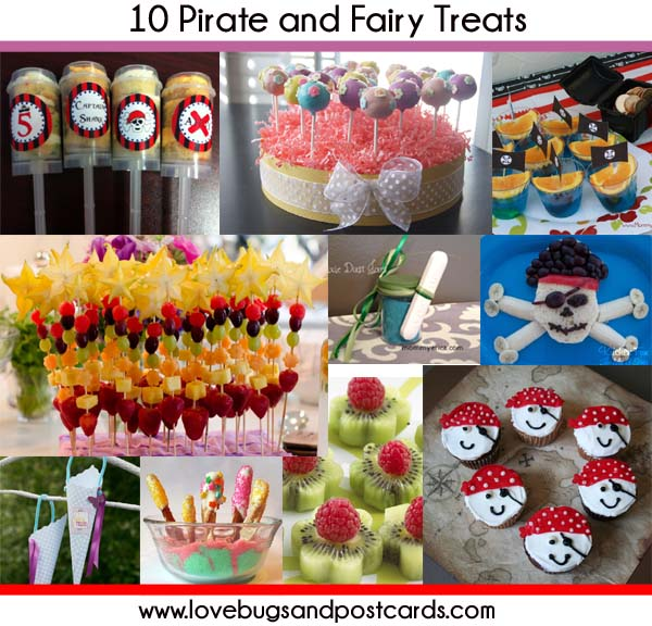 10 Pirate and Fairy Treats