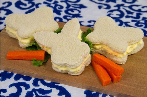 Easter Egg Salad Sandwiches