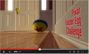 Pixar Easter Egg Hunt Preview {Watch on Disney Movies Anywhere}
