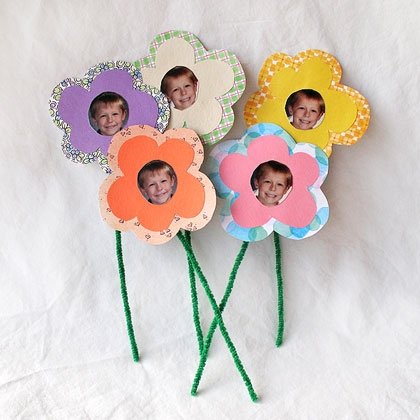 Bouquet of Photo Flowers