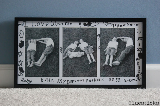 Mothers Day or Fathers Day Frame