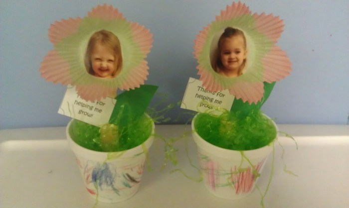 Cupcake Liner with Photo Mothers Day Gift