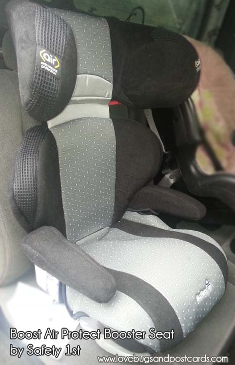 Boost Air Protect Belt-Positioning Booster Car Seat by Safety 1st Review