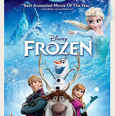 Mother's Day GIVEAWAY: Enter to win FROZEN BluRay/DVD/Digital (ends 5/19)