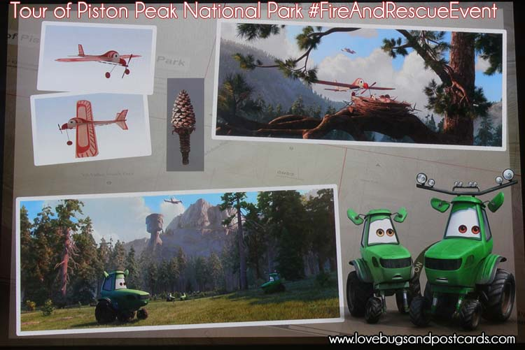 Planes: Fire and Rescue - A Tour of Piston Peak National Park #FireAndRescueEvent