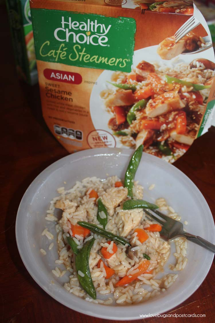Healthy Choice Cafe Steamers - Sweet Sesame Chicken