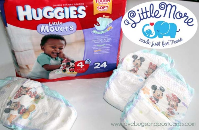 """I am getting """"A Little More"""" at Walgreens with Huggies"""