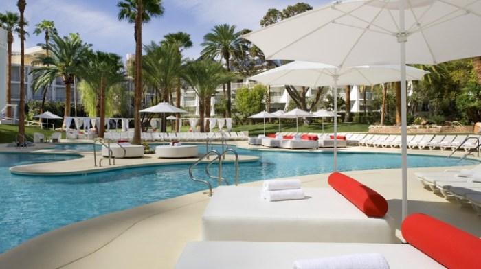 Tropicana Las Vegas Pool. Voted the Best Pool in Las Vegas!