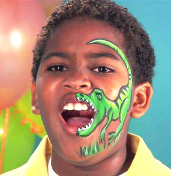 Dinosaur Kids Face Painting