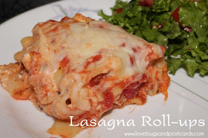 Lasagna Roll-ups Recipe