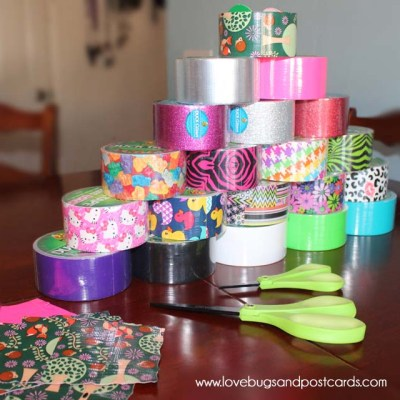 Duck Tape Crafts (and our Duck Tape Party)
