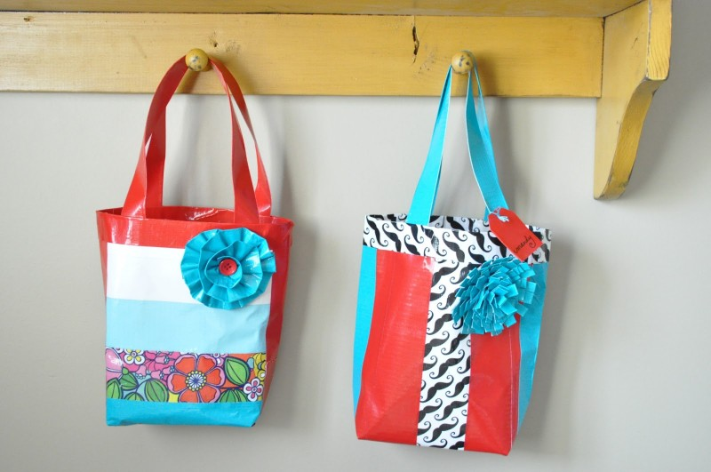 Duck Tape Bags Tutorial