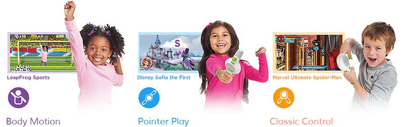 Keep your kids active and learning with the fun new LeapTV from LeapFrog!