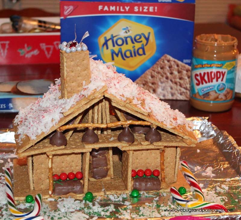 Peanut Butter and Graham Cracker Houses