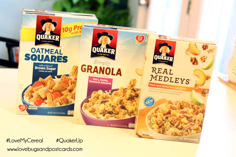 Quaker Cereals