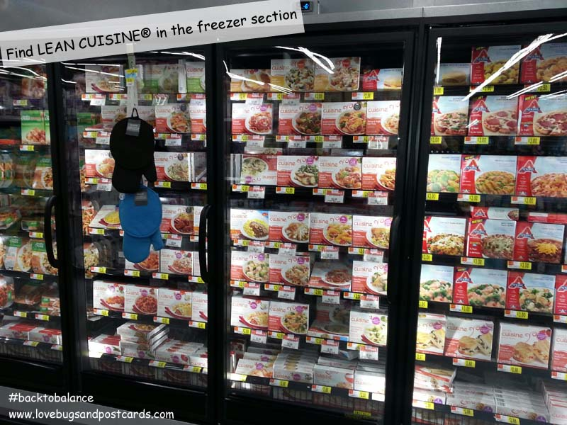 LEAN CUISINE® in the Freezer Section