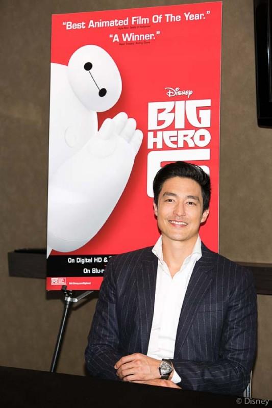 Daniel Henney (Tadashi) for Big Hero 6