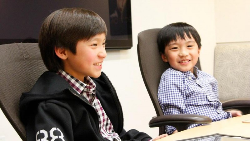 Fresh off the Boat - Forrest Wheeler (left) and Ian Chen (right)