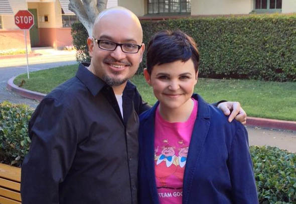 Steve Loter and Ginnifer Goodwin during Disney's Tinkerbell and the Legend of the Neverbeast